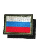 Шеврон на липучке флаг России