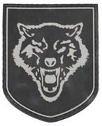 Шеврон на липучке Wolf Head PVC