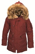 Куртка женская Altitude W Parka Alpha Red Ochre