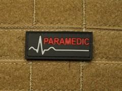 Шеврон на липучке Paramedic прямоугольный