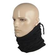Шарф-труба scarf fleece черный