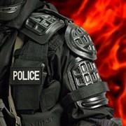 Защита плечей полицейская
