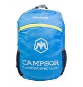 Рюкзак  Campsor складной легкий 12л blue