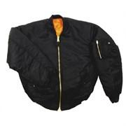 Куртка бомбер MA-1 черная