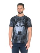 Футболка Волк серый