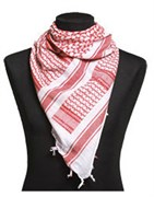 Арафатка Shemagh White/Red
