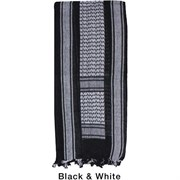 Арафатка Tactical Shemagh Black/White