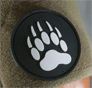 Шеврон на липучке Paw of a bear PVC