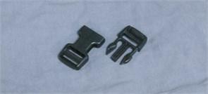 Фастекс Duraflex 25mm Dual Adjust Mojave Side Squeeze Buckle черный
