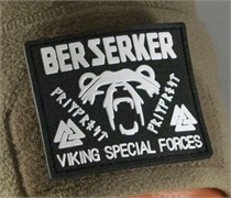 Шеврон на липучке Viking Special Forces PVC