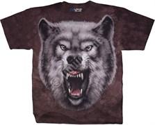 Футболка Liquid Blue Roaring Wolf 11440