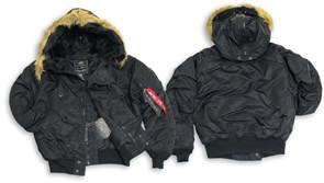 Куртка N-2B Flight Jacket Alpha Black