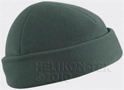Шапка флис Helikon Foliage Green