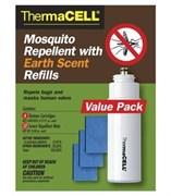 Большой комплект расходных материалов для антимоскитных приборов ThermaCELL с запахом прелой листвы