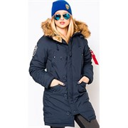 Куртка женская Altitude W Parka Alpha Replica Blue