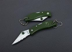 Нож складной туристический Ganzo G623S зеленый