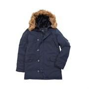 Куртка аляска Altitude Parka Alpha Replica Blue