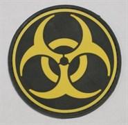 Шеврон на липучке Biohazard PVC