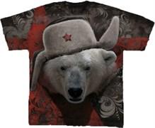 Футболка двусторонняя Белый медведь