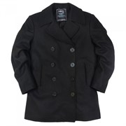 Бушлат USN Pea Coat Long Nord Storm Black