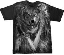 Футболка Волк тотал